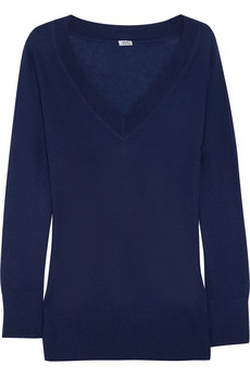 Iris & Ink V-neck cashmere sweater - Exclusively for THE OUTNET