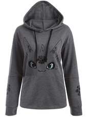 sweater,grey,fashion,style,trendy,long sleeves,hoodie,unicorn,casual,zaful