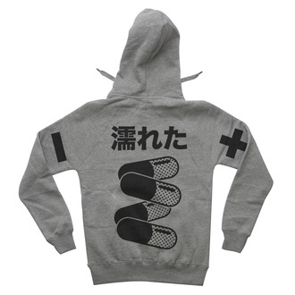 top anime pills sweater manga akira japan japanese hoodie grey hoodie