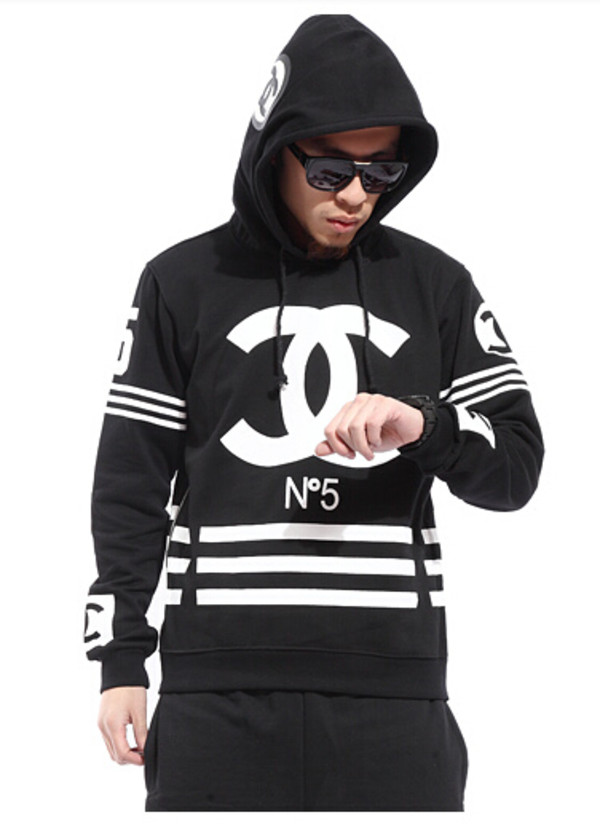 Sweater Chanel Sweatshirt Homme Femme Hoodie Wheretoget