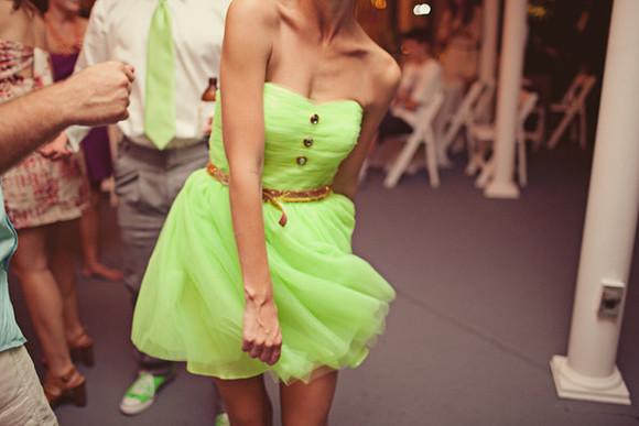 green green dress strapless
