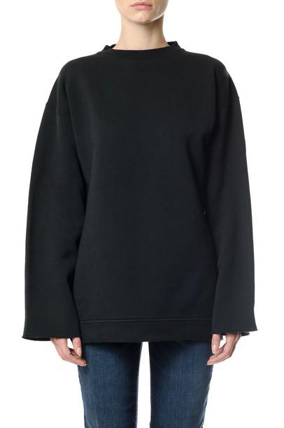 Golden goose sweatshirt oversized black sweater