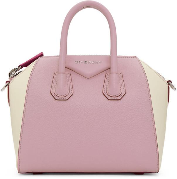 Givenchy mini bag white pink off-white