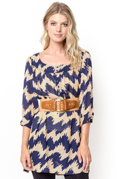 top,belted tunic dress,chevron tunics,belted tunic top