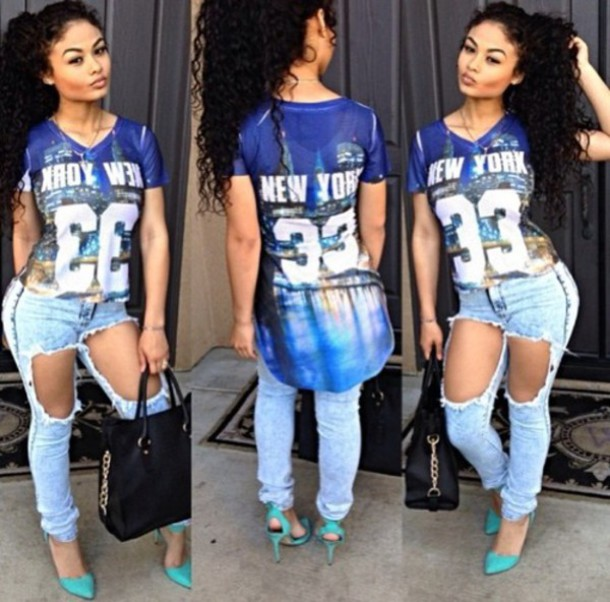 india westbrooks new york city t-shirt