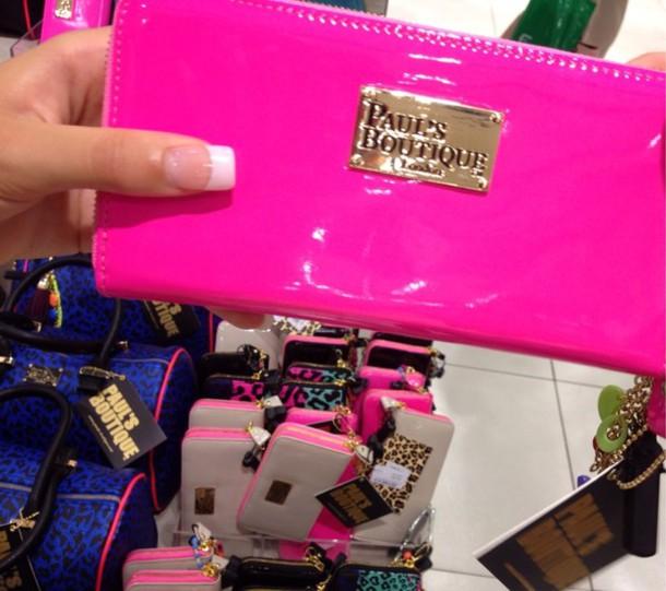 bag pink purse pauls boutique