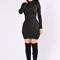 Jump the gun dress - black | fashion nova