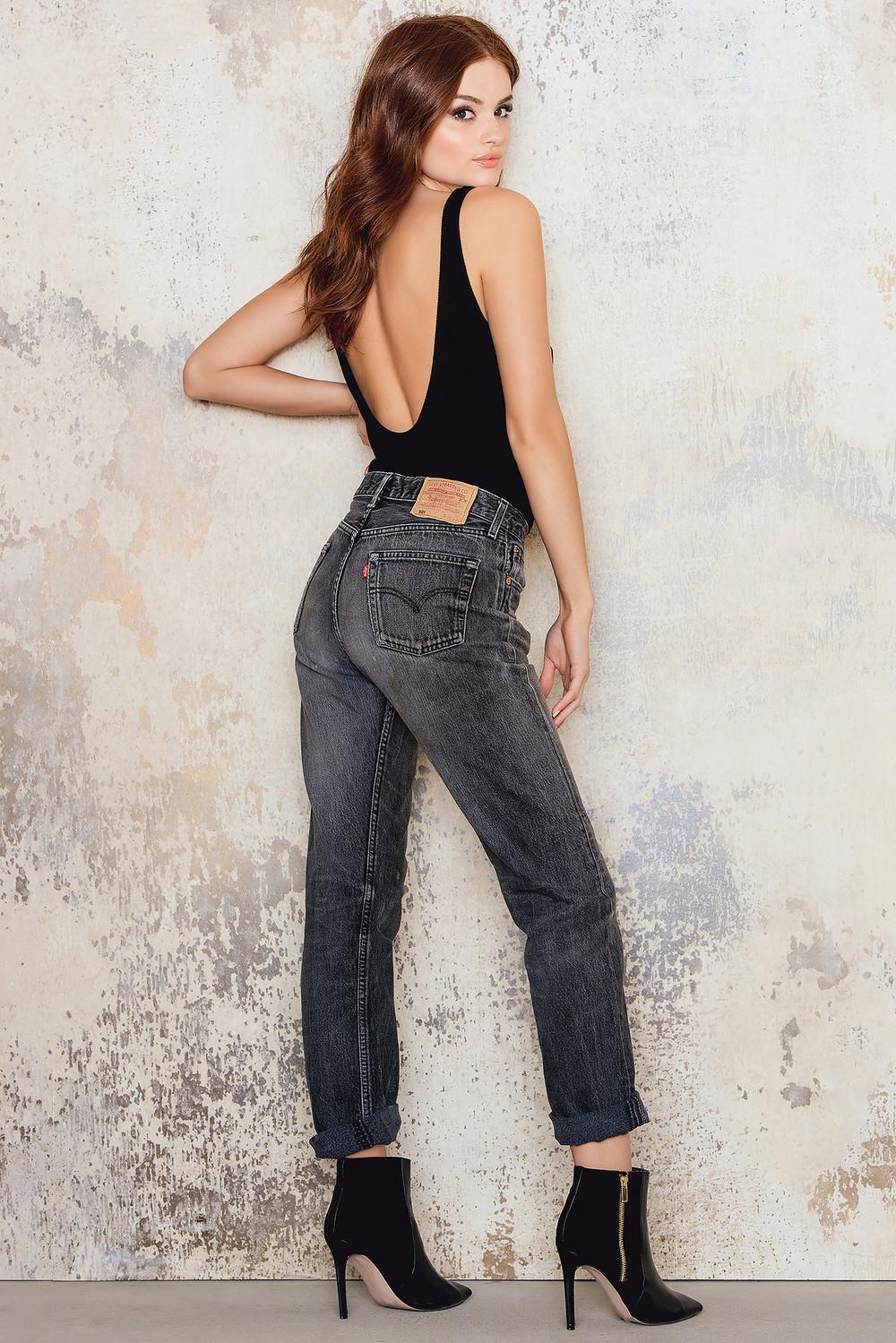 NA-KD Vintage Vintage 501 Levis Jeans