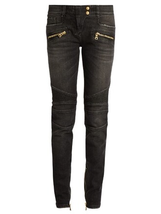 jeans fit dark grey