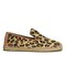 Ugg australia women's sandrinne calf hair leopard slip on espadrille shoes