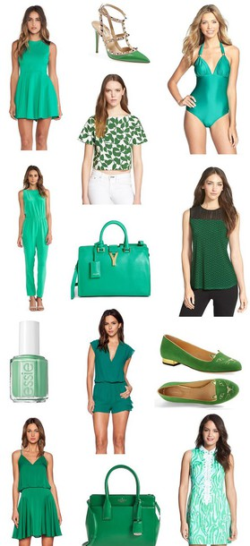 dress ladakh Valentino vix vix swimwear kate spade new york top kitty flats blogger fashion blogger st patrick's day valentino shoes studded kate spade kate spade saint laurent yves saint laurent essie essie ❤️ charlotte olympia lilly pulitzer milly milly dress fabes fashion www.fabesfashion.com jumpsuit romper shoes swimwear bag nail polish