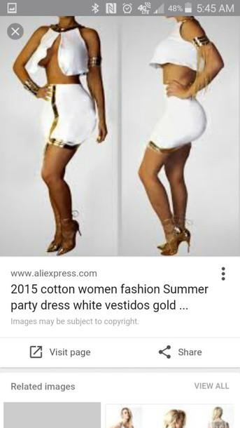 dress two piece dress set bodycon dress white dress