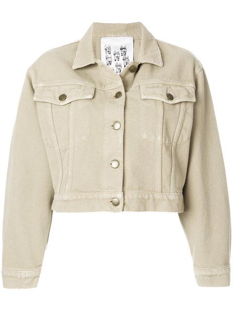 Closed Cropped Raw Denim Jacket - Farfetch