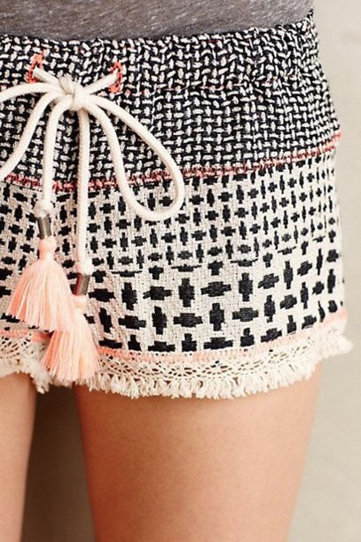 shorts boho chic summer\ hippie