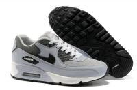 nike hommes chaussures 2013 mouvehommest air max 90 peau mesh gris carbone gris et noir,nike air max 90 chaussure,nike air max 90 basket France boutique ligne www.sac-lvfrance.com