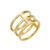 Lancaster | Three Tier Stack Ring | Svelte Metals