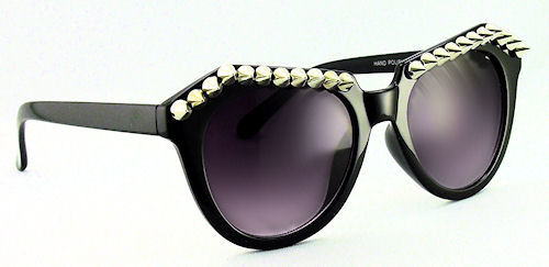 Extreme Spike Sunglasses - 166 Black