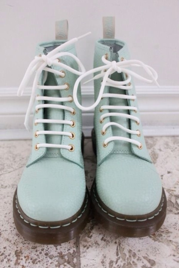 Dr Martens Shoes Boots Pastel Boots Pastel Colors From