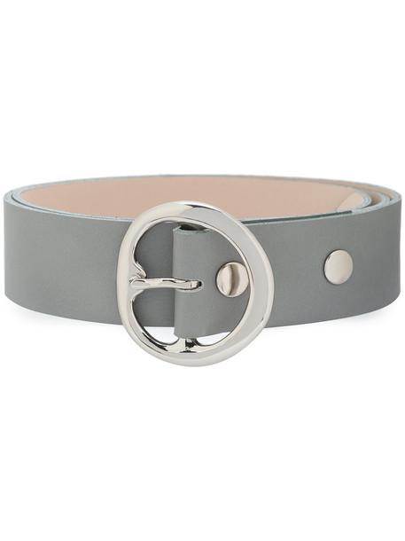 B-Low The Belt women belt leather grey