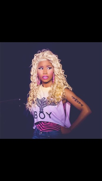 shirt nicki minaj boy shirt