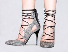Daphnie tweed lace