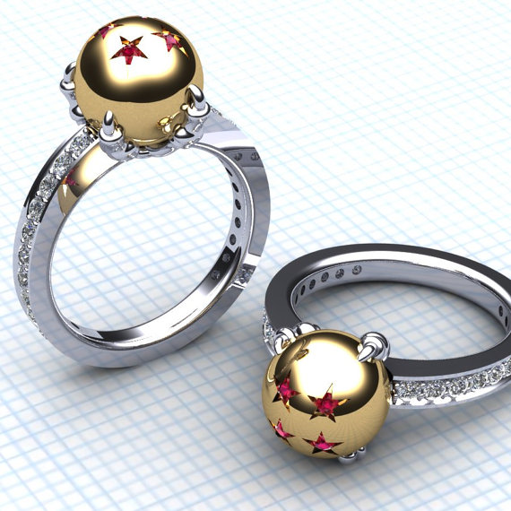 Moon And Star Ring Etsy