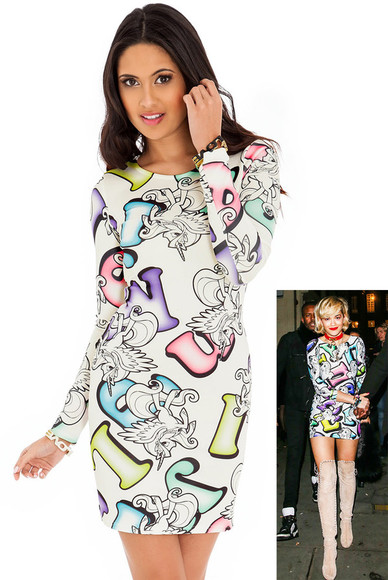 unicorn dress rita ora mini dress