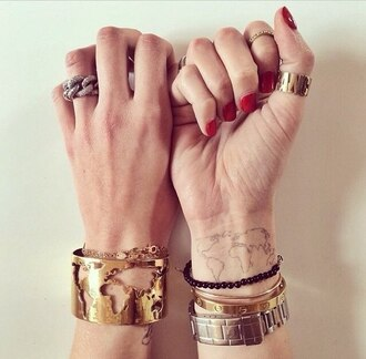 jewels ring bracelets fashion rings cute summer knuckle ring