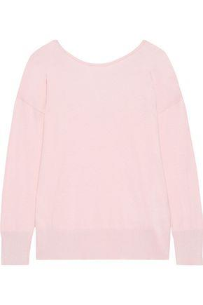 Iris & Ink Woman Signy Cotton-blend Sweater Baby Pink Size L