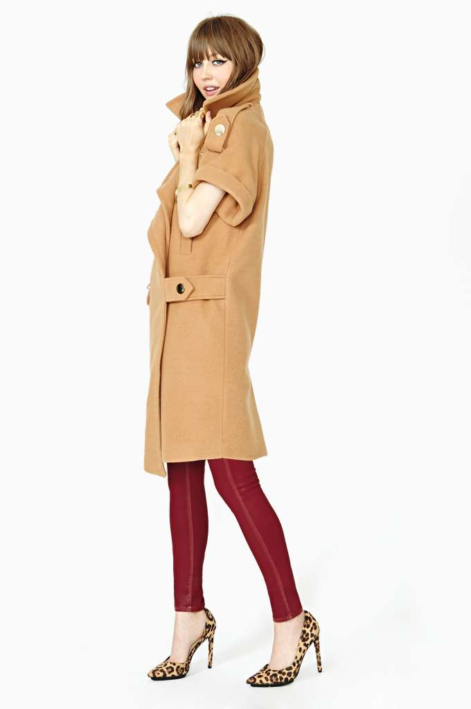 Three Floor Campaign Coat | Shop Clothes at Nasty Gal
