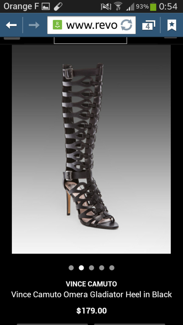 Vince Camuto Omera Tall Gladiator Heel Sandals Shoes