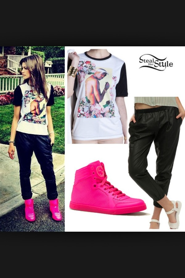 shoes zendaya pink jeans t-shirt