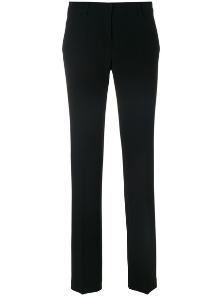 Alberto Biani long women black pants
