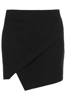 Asymmetric Wrap Mini Skirt - Skirts - Clothing - Topshop