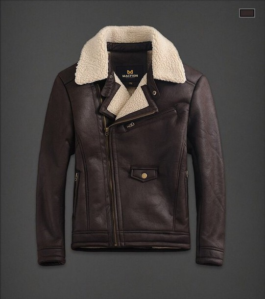 jacket leather aviator jacket brown leather