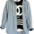 Ocean Beach Hooded Shirt | Just Vu