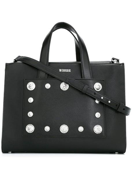 Versus studded women leather black bag