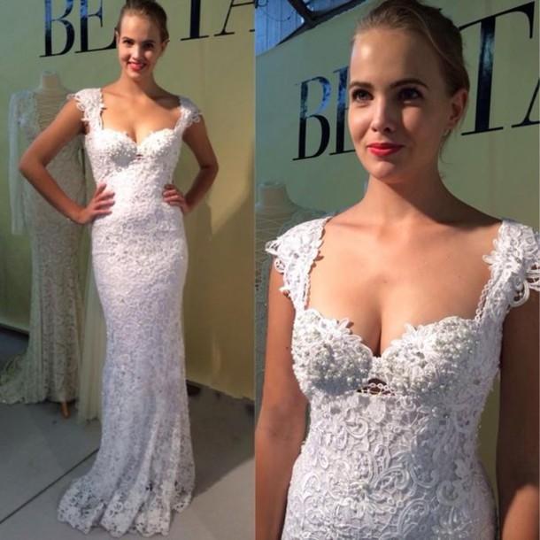 Bridal Cap Sleeves
