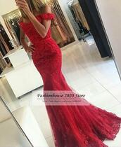 dress,prom dress,prom gown,long prom dress,red long prom dress,blue long prom dress,lace dress,lace prom dresses,sparkly mermaid prom dress,2017 long mermaid prom dresses,formal dress,formal party dresses,long formal evening gowns,white long laced prom dress,appliques long prom dresses,tulle prom gown,sexy evening dresses red,sexy party dresses,plus size evening dresses