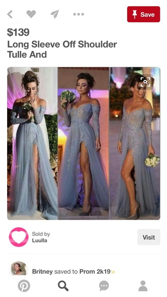 dress blue shoes prom dress cute dress