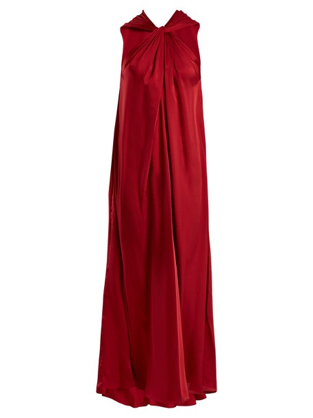 Elizabeth and James dress satin red