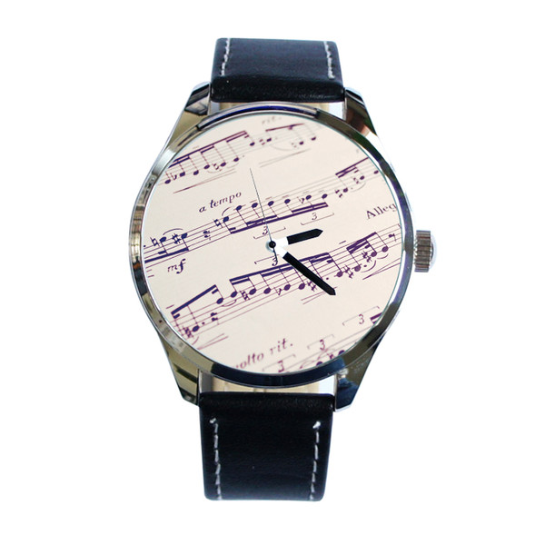 jewels notes music watch watch ziz watch ziziztime black n white