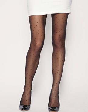 Collants plumetis chez asos