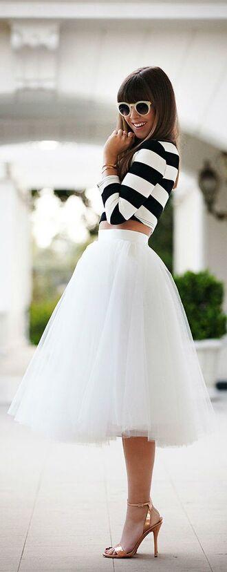 skirt tulle skirt tulle skirt`` white skirt midi skirt tutu tutu skirt adult