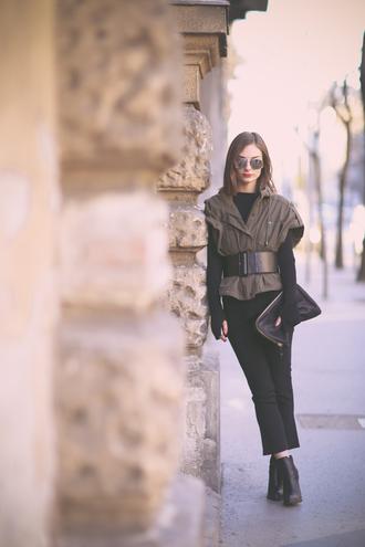 venka vision blogger belt waist belt