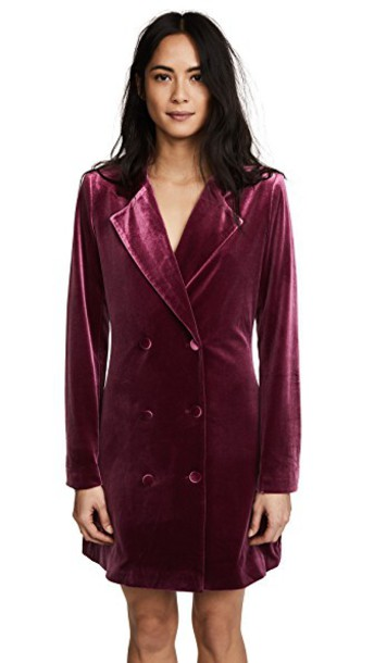 Yumi Kim dress burgundy