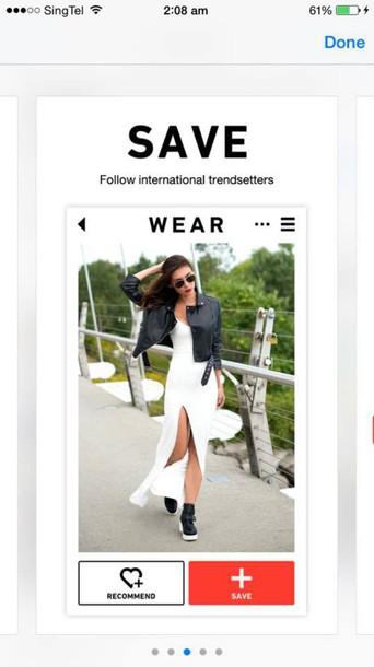 dress white dress trendsetter