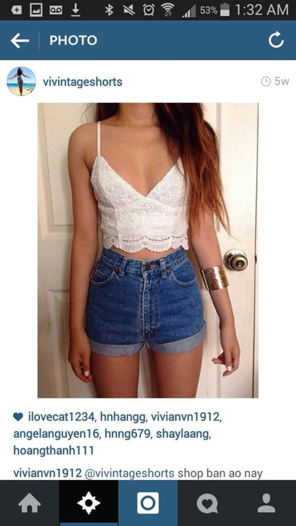 top clothes crop tops white crop tops lace lace crop top white