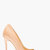 giuseppe zanotti nude beige leather yvette pumps