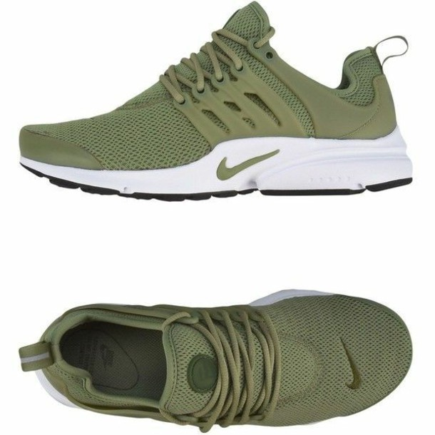 free shipping 6f45c f697f shoes olive green nike prestos